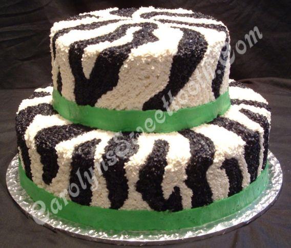 Cake With Zebra Design : Buttercream zebra cake Cake/cupcake ideas Pinterest