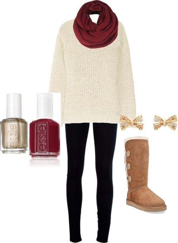 Cute fall Outfit u2665 ugg boots | My Style | Pinterest