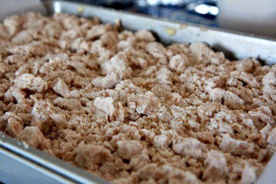 Big Crumb Apple Coffee Cake