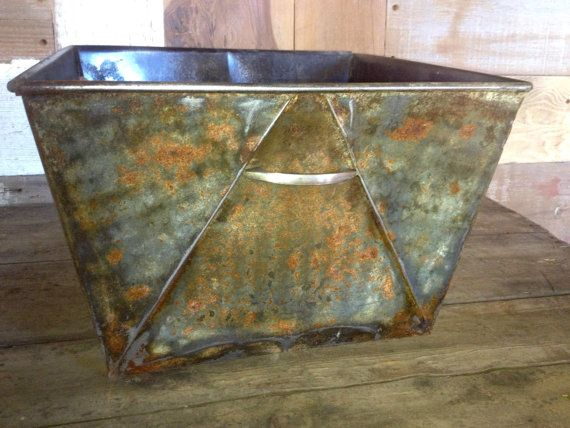 PROSPECTOR Galvanized Metal Storage Box by appendageandbough