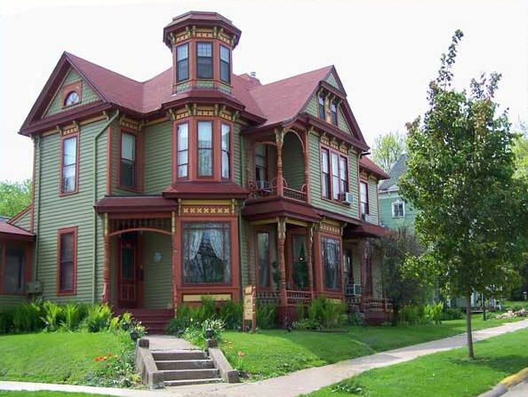 Queen Anne Style Victorian Home Fairy Tales Pinterest
