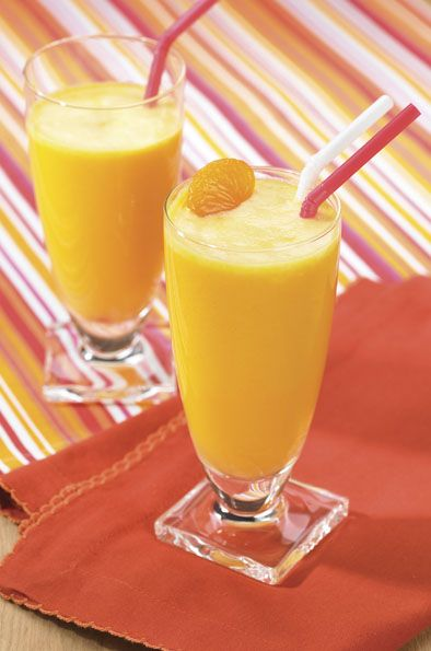 Creamy Dreamy Sunshine Orange Smoothie | For the Home | Pinterest