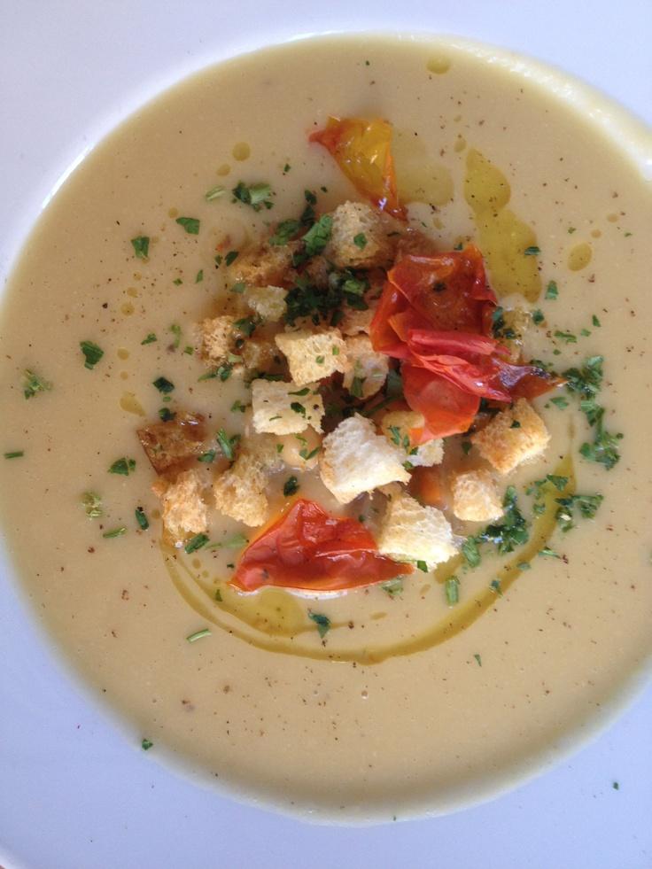 Cream of garbanzo beans soup | un posto a Milano | Pinterest