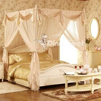 Princess Bed Kids Pinterest