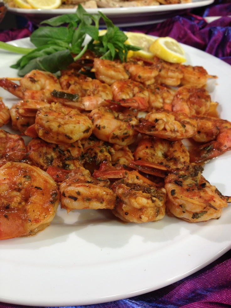 Easy Marinated Grilled Shrimp | Yum! | Pinterest