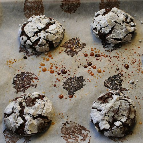 Chocolate-Espresso Snowcaps Recipe — Dishmaps