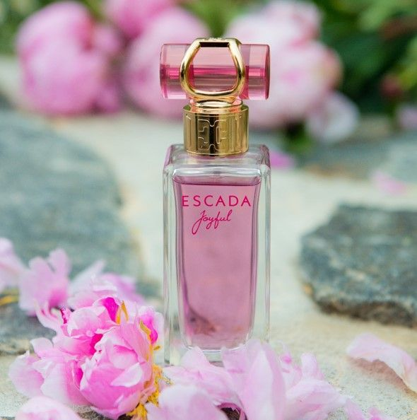 We are very excited to reveal our beautiful new fragrance - ESCADA Joyful! #JoyfulMoments