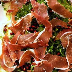 Fennel, Prosciutto and Pomegranate Salad | paleo munchies | Pinterest