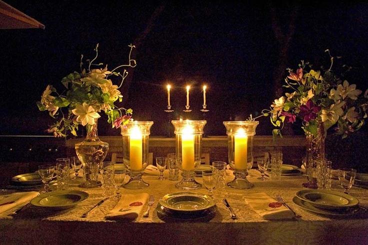 Linda mesa de jantar.