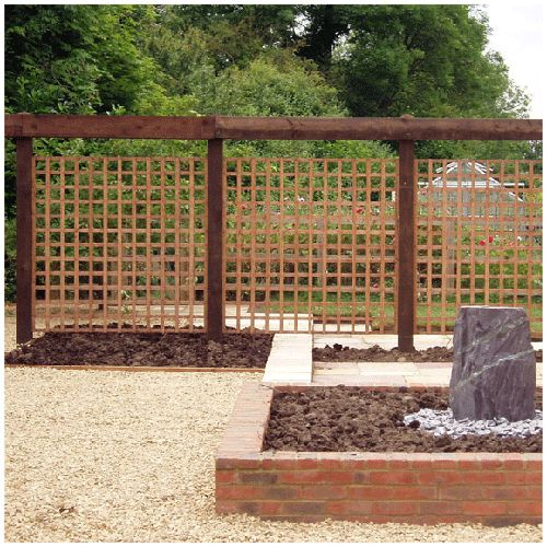 Simple privacy screen outdoors pinterest for Simple outdoor privacy screens