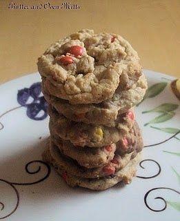 Triple Peanut Butter Cookies   Meals   Pinterest