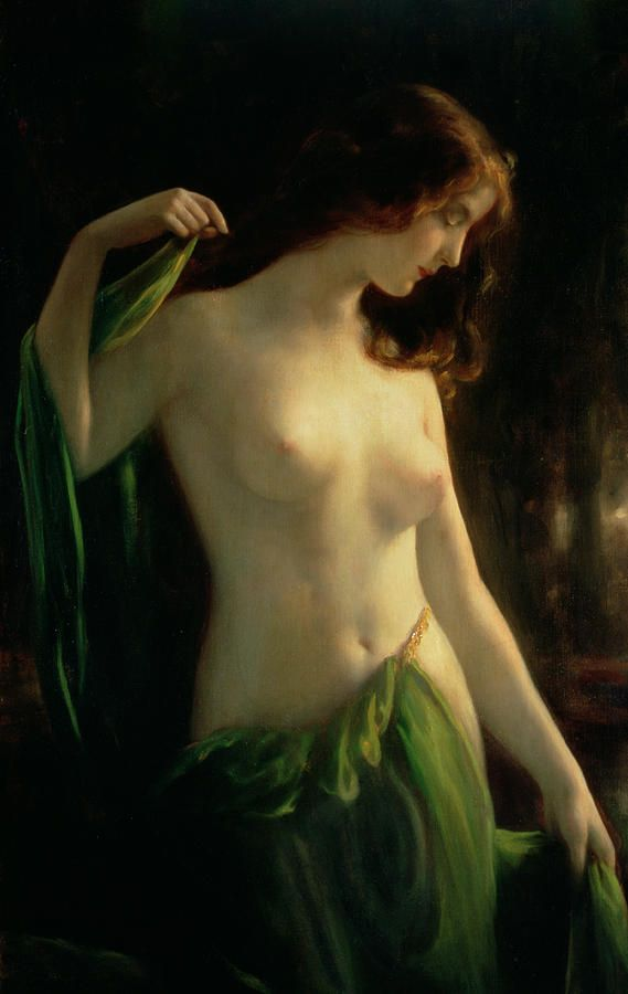 Water Nymph Painting - Water Nymph Fine Art Print - Otto Theodor Gustav Lingner