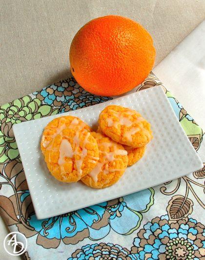 Orange Cream Cookies | foodz | Pinterest
