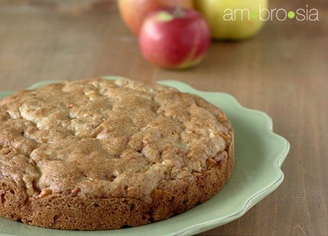 Mainly, because I like the name: Apple Dapple Cake