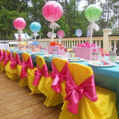 Beautiful Decoration For Birthday Party : Wow, beautiful party decorations.  PARTY IDEAS  Pinterest