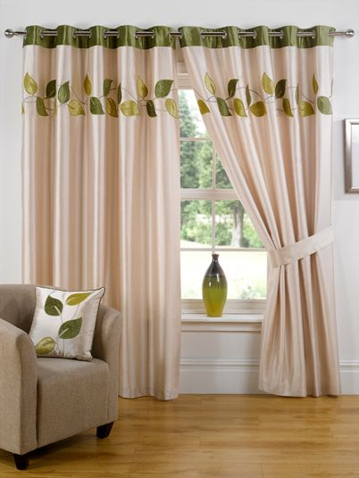 Amorini Ready Made Eyelet Curtains | New Products | Pinterest