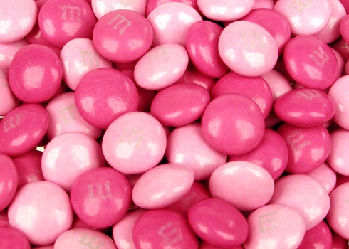 Pink M's