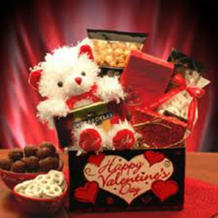 flowers and chocolates for valentine's day