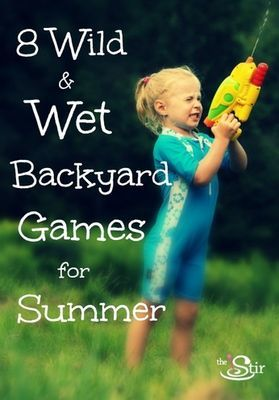 Awesome Water Games for Backyard Fun on Hot Days