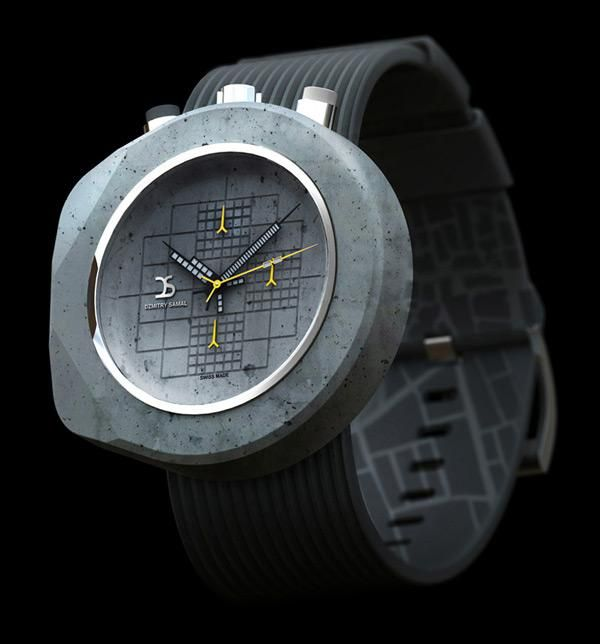 Concrete watch for manly people