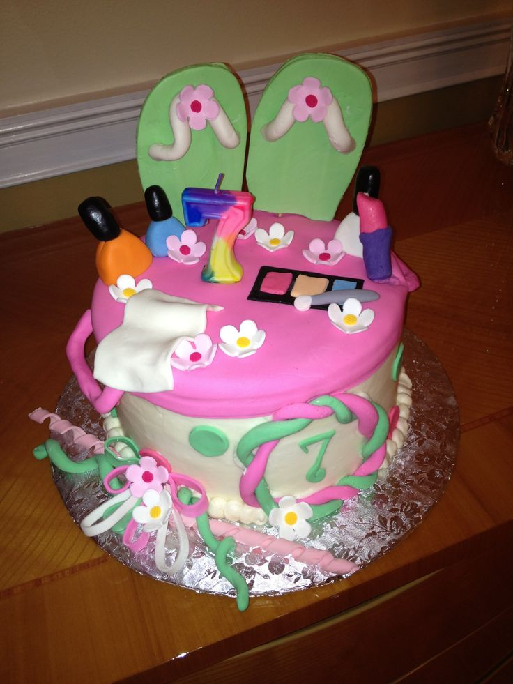 Pamper Party Cake Images : Spa party cake Camille s Princess Spa/Slumber Party ...