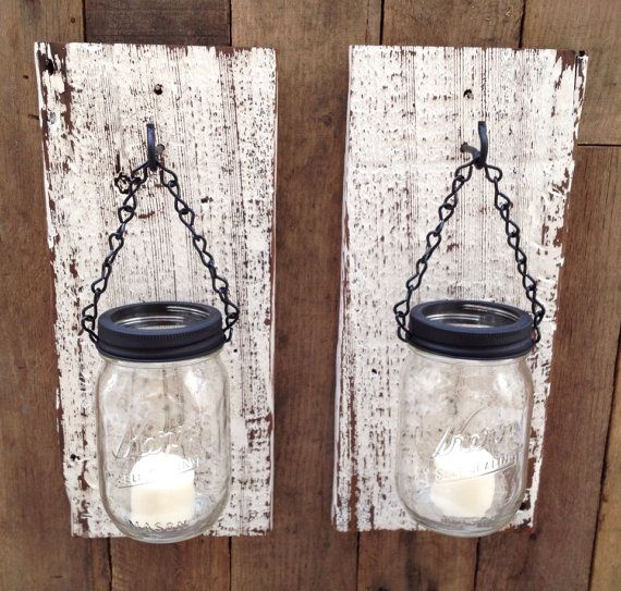 beats solo discount Rustic barn wood mason jar candle holder