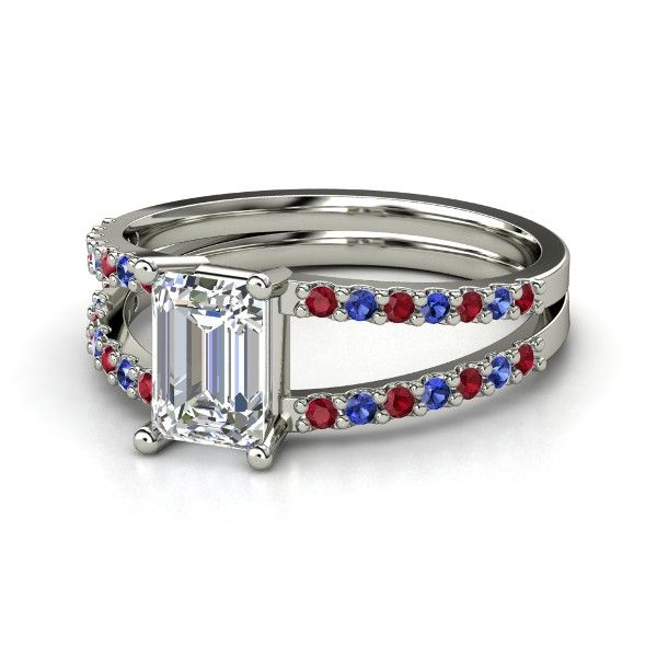 Ruby Ring Ruby Ring Emerald Cut