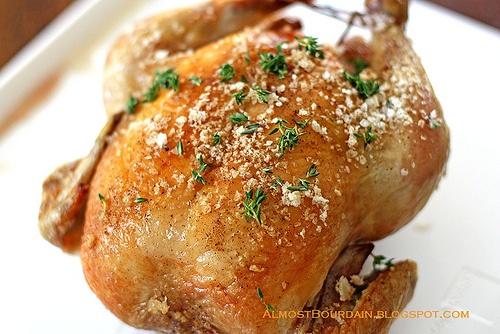 Thomas Keller's Favorite Simple Roast Chicken