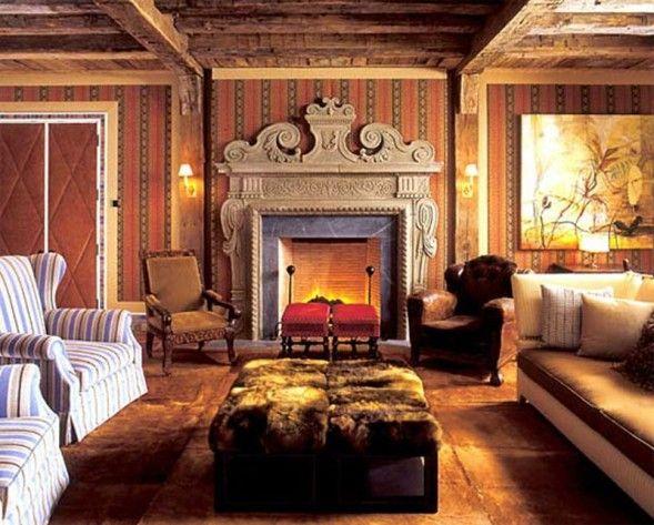 Cozy Victorian Cottage Living Room Dream Home Pinterest