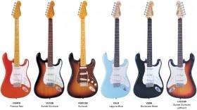 Vintage reissued V6 Series elektrische gitaar Fender Stratocaster model