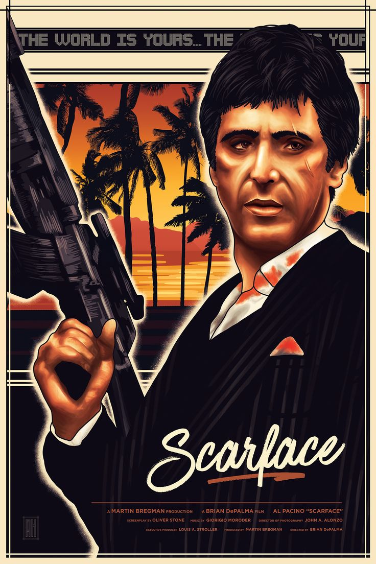 Scarface movie posters at movie poster warehouse