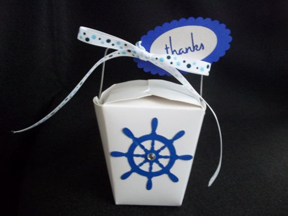cruise ship wedding 10 ship 39 s helm chinese takeout favor boxes by