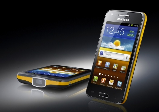 Smartphone Gets A Shiny Projector