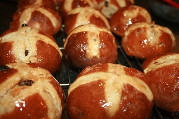 Richard Bertinet's Hot Cross Buns Recipe — Dishmaps