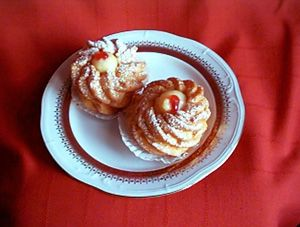 St. Joseph's Day Cream Puffs (Zeppole) | DianasDesserts.com. I have ...
