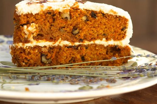 CARROT CAKE WITH MASCARPONE FROSTING - make it for dessert and reserve ...
