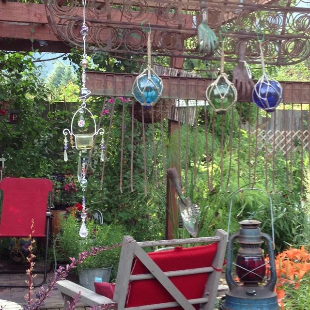 Garden Junk Garden Pinterest
