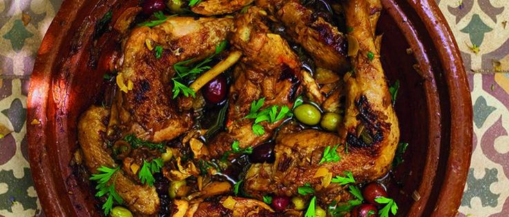 Moroccan Chicken Tagine with preserved Lemons and Olives » Eat Travel ...