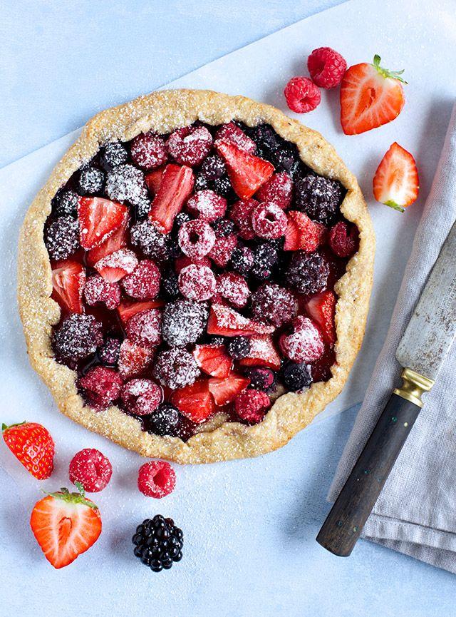Berry Galette | Cake | Pinterest