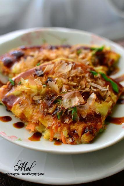 Okonomiyaki (Japanese Pancake) |Through The Kitchen Door: