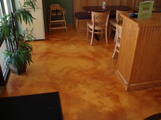stained concrete floors seriously thinking about this for when we