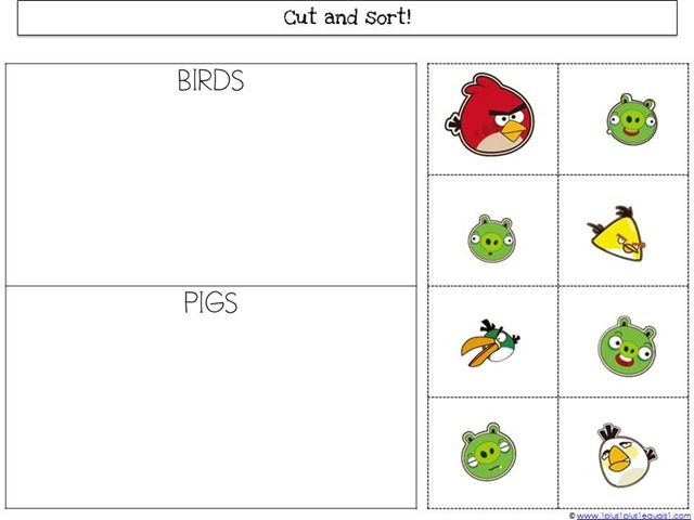... Birds Unit from 1+1+1=1   Math Printable Worksheets- Pre K   Pinterest