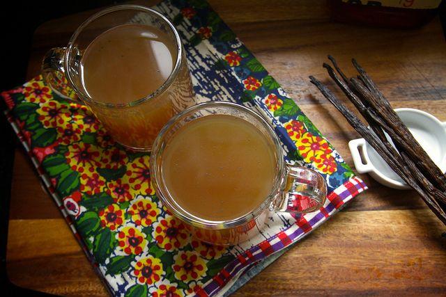 hot vanilla cider | Sweet Tooth | Pinterest
