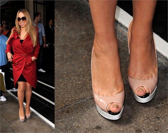 Mariah Carey feet | Mariah Carey - © Splash News Mariah Carey