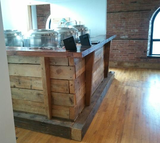 Reclaimed Wood Bar Rustic Modern Pinterest