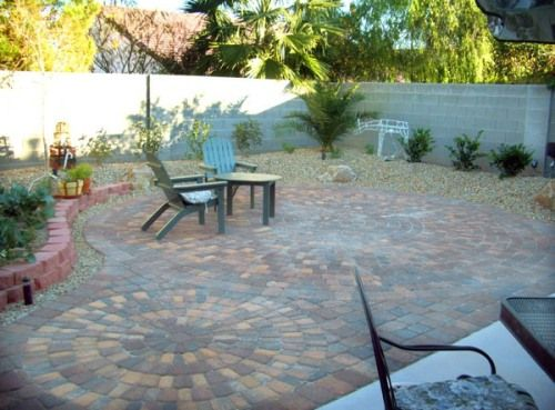 Cheap diy patio 500 369 pixels outdoor ideas for Cheap patio design ideas