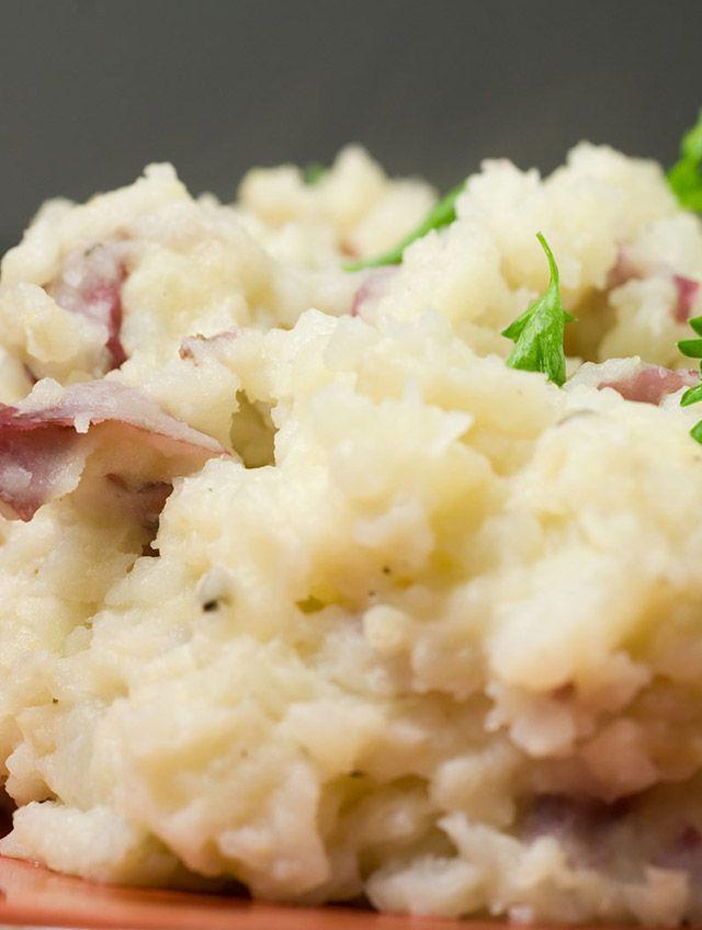 Roasted Garlic Mashed Red Potatoes Recipe l Life's Ambrosia