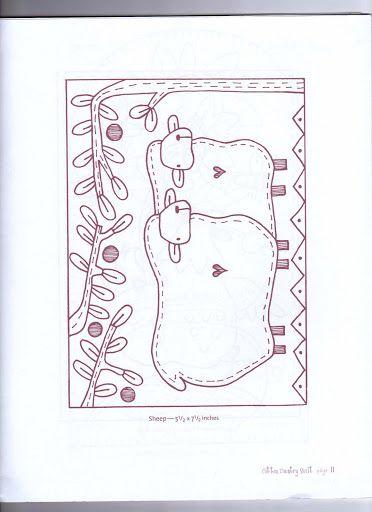 Free Primitive Sheep Pattern