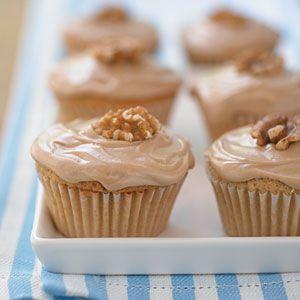 Double-Maple Cupcakes