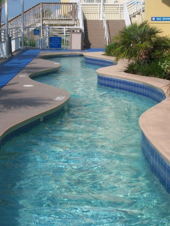 Lazy River In My Backyard : Lazy river in the backyard, ocean in the front yard